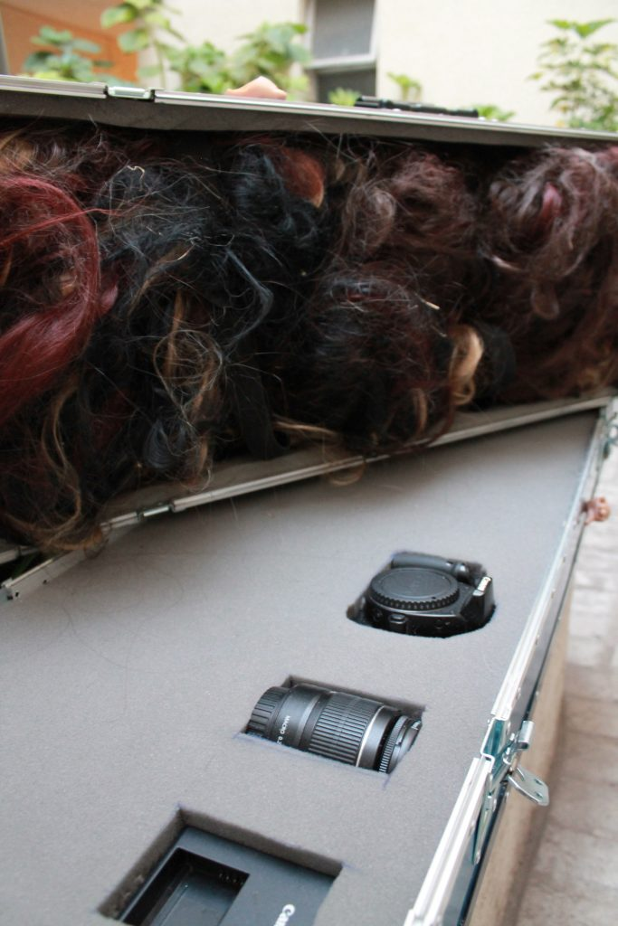 Chuki Performace Case personalizado con Cara frontal de acrílico transparente